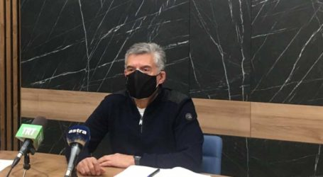 Αγοραστός: 1095 κρούσματα στη Θεσσαλία σε μία εβδομάδα – Τα 243 νοσηλεύονται στο νοσοκομείο (video)