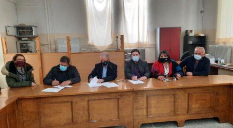"""Δήμος Τεμπών: Έπεσαν οι υπογραφές για το έργο """"Αντικατάσταση δικτύων ύδρευσης"""""""