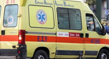 Λάρισα: Μηχανάκι συγκρούστηκε με αυτοκίνητο στο κέντρο της πόλης – Στο νοσοκομείο ένας 26χρονος