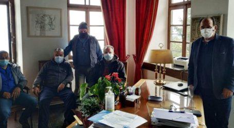 Αυτοψία ΕΛΓΑ σε ζημιές που προκάλεσε η «Μήδεια» σε καλλιέργειες του Δήμου Ζαγοράς -Μουρεσίου