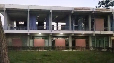 """Σεισμός: """"Κόκκινο"""" το εμβληματικό Εμμανουήλειο Πνευματικό Κέντρο στον Τύρναβο"""