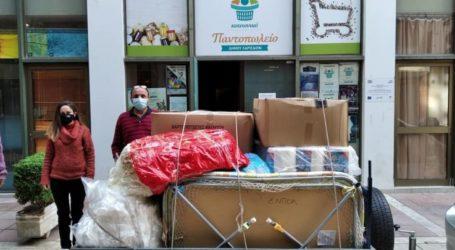 Τρίτη παρτίδα βοήθειας προς τους σεισμόπληκτουςμέσω των Ενεργών Πολιτών Λάρισας