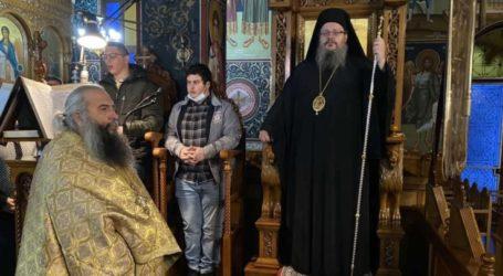 Στον Ι.Ν. Αγίου Γεωργίου Νικαίας ο Ιερώνυμος Λαρίσης – Τέλεσε τον Αναστάσιμο Εσπερινό της Κυριακής της Ορθοδοξίας (φωτο)