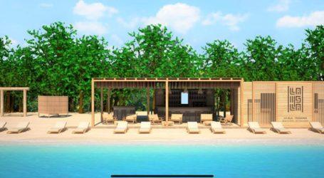 La isla Τsougkrias: Το beach Bar του Ν. Μπέου στον Τσουγκριά