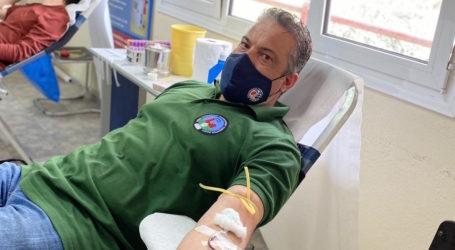 Εθελοντική αιμοδοσία από τους εργαζόμενους στην ΑΓΕΤ ΗΡΑΚΛΗΣ