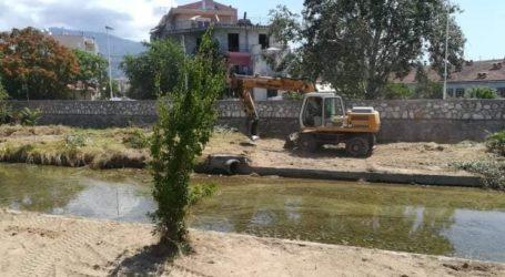 Η Περιφέρεια Θεσσαλίας καθαρίζει  10 ρέματα και χειμάρρους στη Μαγνησία