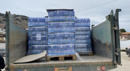 Δήμος Τυρνάβου: Υπερκαλύφθηκαν οι ανάγκες για εμφιαλωμένο νερό