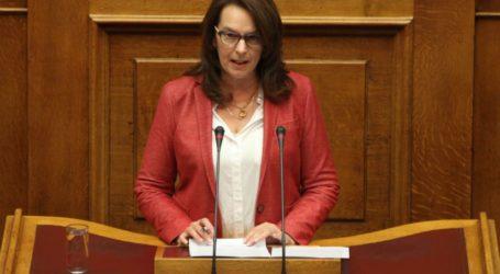 Κ.Παπανάτσιου : «Υπάρχει δυσαρέσκεια για την Κυβερνητική πολιτική και η ΝΔ έχει αρχίσει να το νιώθει»