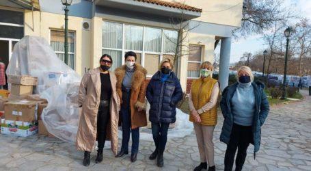 Κοντά στους σεισμοπαθείς με παροχή βοήθειας οι Σοροπτιμίστριες του Βόλου