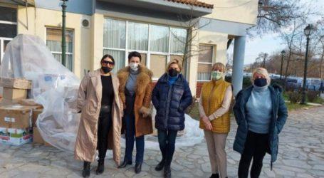 Σοροπτιμιστική Ένωση Ελλάδας, 1οςΣοροπτιμιστικός Όμιλος Βόλου και Λάρισας συνδράμουν τους σεισμοπαθείς