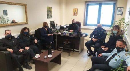 Συνεργασία Ελληνικής και Δημοτικής Αστυνομίας – Σύσκεψη με Μορφογιάννη
