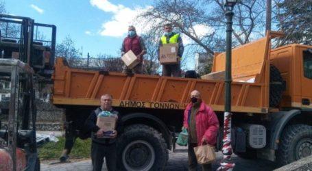Δήμος Τεμπών: Συγκινητική η ανταπόκριση των κατοίκων για τους σεισμόπληκτους