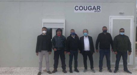 Ένα οικίσκο παρέδωσε στην Περιφέρεια Θεσσαλίας η εταιρία αθλητικών ειδών Gougar Sport
