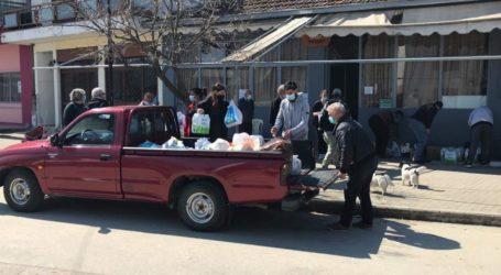 Σωματεία και φορείς του Ν. Λάρισας: Παρέδωσαν είδη πρώτης ανάγκης στα σεισμόπληκτα χωριά