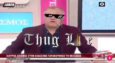 Τέρας… ψυχραιμίας o Κολλάτος του Θεσσαλία TV: Σπάει τα κοντέρ στο YouTube [video]