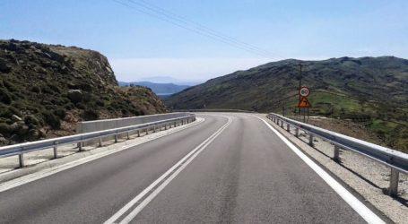 Νέα στηθαία ασφαλείας στο οδικό δίκτυο τοποθετεί η  Περιφέρεια Θεσσαλίας στη Μαγνησία