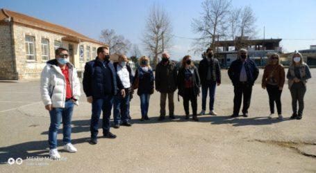 Το δημοτικό σχολείο Φαλάνης επισκέφθηκε αντιπροσωπεία της Λαϊκής Συσπείρωσης Λάρισας