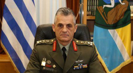 Αποστρατεύεται ο Διοικητής της 1ης Στρατιάς Βασίλειος Παπαδόπουλος