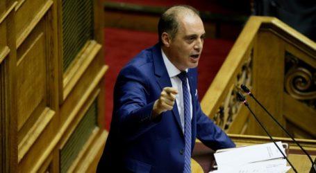 Ερώτηση Βελόπουλου στη Βουλή για το Δημοτικό θέατρο Ν. Ιωνίας