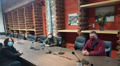 Συνάντηση Κ. Παπανάτσιου με το πρύτανη του Πανεπιστημίου Θεσσαλίας