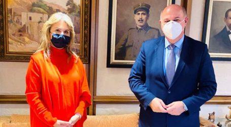 Ζ. Μακρή: Άμεση επικοινωνία με Κ. Τσιάρα για το Ειρηνοδικείο Αλμυρού