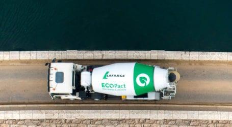 Ο Όμιλος ΗΡΑΚΛΗΣ λανσάρει στην ελληνική αγορά την «πράσινη» σειρά σκυροδεμάτων ECOPact με 30% χαμηλότερες εκπομπές CΟ2 και κορυφαίες επιδόσεις