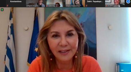 Η Ζέττα Μακρή με το ΚΕΘΙ και τη UNICEF κατά της έμφυλης βίας