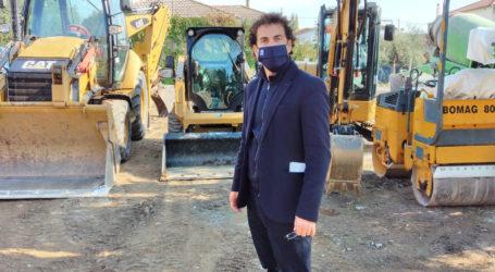 Αργύρης Κοπάνας: «Ασφαλτοστρώσεις στο κέντρο και σε συνοικίες στη Νέα Αγχίαλο»