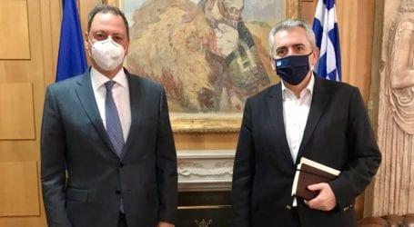 Να ενταχθούν οι επιλαχόντες στα σχέδια βελτίωσης ζητά ο Χαρακόπουλος από το Λιβανό