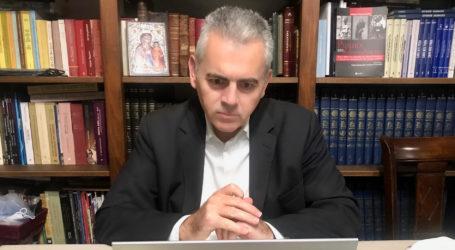 """Χαρακόπουλος σε διαδικτυακή σύσκεψη του δ. Τεμπών: """"Οι ζημιές στα Τέμπη αποζημιώνονται πλήρως από τον ΕΛΓΑ"""""""