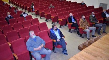 Υπευθυνότητα ζήτησε ο Νασιακόπουλος σε σύσκεψη ενόψει της νέας αντιπυρικής περιόδου