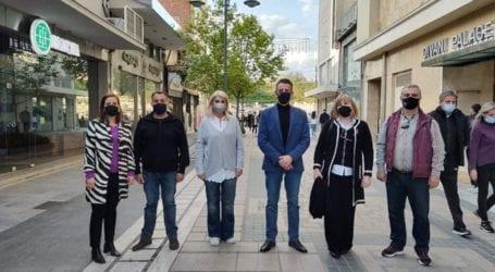 Συνάντηση με το Σύλλογο Καρκινοπαθών Λάρισας πραγματοποίησε το  Σωματείο Οικογενειών Ενόπλων Δυνάμεων