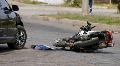Τροχαίο ατύχημα στο κέντρο του Βόλου – Δύο τραυματίες