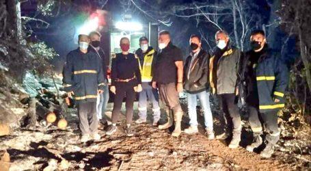 Το «μπράβο» της Κολυνδρίνη για την έκβαση της πυρκαγιάς στο Πήλιο