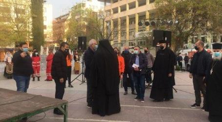 """Εκδήλωση αγάπης από το δίκτυο """"Κανείς Μόνος"""" σήμερα στην Κεντρική Πλατεία ενόψει του Πάσχα"""