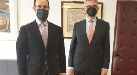 Συνάντηση του Κων. Μαραβέγια με τον υφυπουργό Εργασίας για το νέο πλαίσιο λειτουργίας του ΕΦΚΑ από το 2022