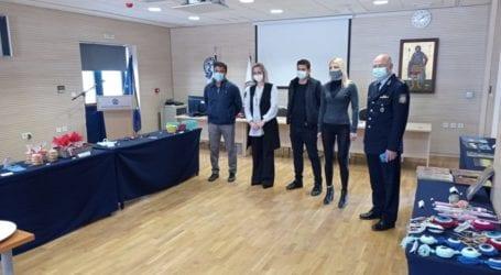 Βόλος: Δημιουργίες αστυνομικών για τη στήριξη του ξενώνα φιλοξενίας γυναικών θυμάτων βίας