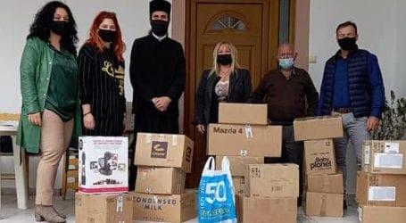 Δίπλα σε ιδρύματα και πολίτες ο Τριαντάφυλλος Γκογκινούδης