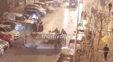 Θεσσαλονίκη: Ανατροπή οχήματος στην Άνω Πόλη