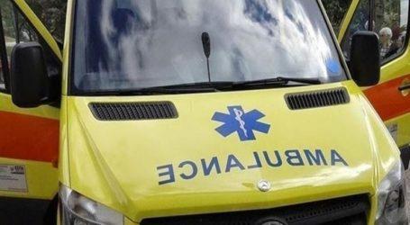 Τροχαίο δυστύχημα στο Περιστέρι
