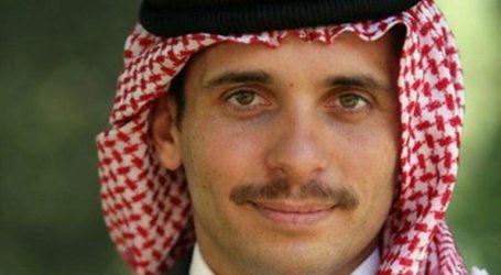 Η πρώην βασίλισσα Ιορδανίας στο πλευρό του πρίγκιπα Χάμζα