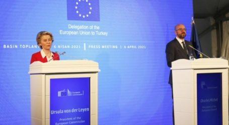 Σαφή μηνύματα υπέρ της Ελλάδας έστειλε από την Άγκυρα η ευρωπαϊκή ηγεσία
