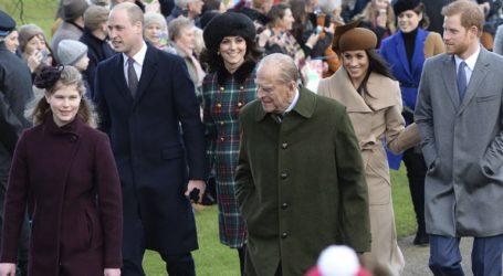 Ο πρίγκιπας Χάρι και η Μέγκαν Μαρκλ αποχαιρέτισαν τον πρίγκιπα Φίλιππο