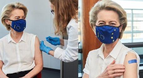 Εμβολιάστηκε κατά του κορωνοϊού η πρόεδρος της Κομισιόν Ούρσουλα φον ντερ Λάιεν