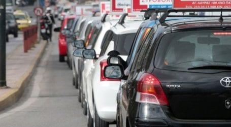 Αυτοκινητοπομπή διαμαρτυρίας εκπαιδευτών σχολών οδηγών