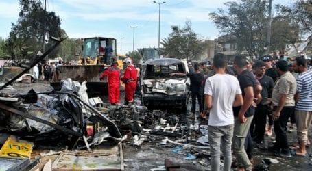 Το Ισλαμικό Κράτος ανέλαβε την ευθύνη για τη φονική έκρηξη σε αγορά της Βαγδάτης