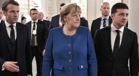 Αποχώρηση των ρωσικών δυνάμεων από τα σύνορα ζητεί η «τριμερής» Γερμανίας-Γαλλίας-Ουκρανίας