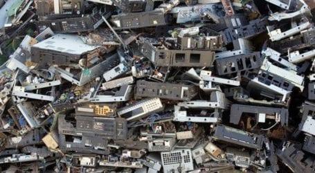 Συγκέντρωση 3,5 τόνων ηλεκτρικών και ηλεκτρονικών αποβλήτων
