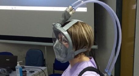 Στο Μποδοσάκειο Νοσοκομείο η πρώτη μικροβιοκτόνος μάσκα