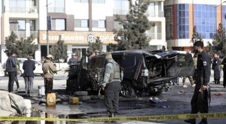 Επίθεση αυτοκτονίας εναντίον πομπής αφγανικών δυνάμεων ασφαλείας στην Καμπούλ